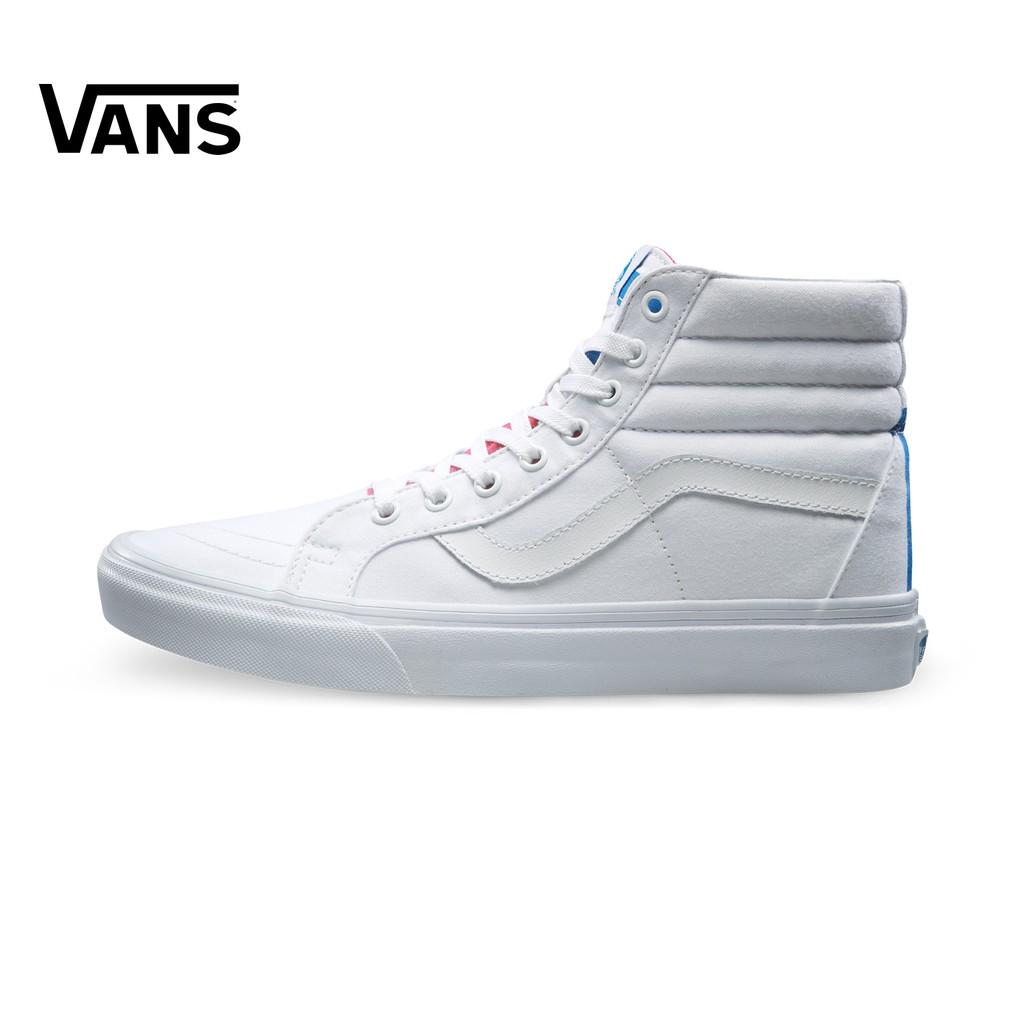 Classic Vans  black and white case   casual canvas shoes  c7786de43a