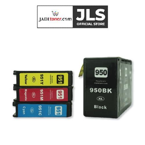 Jadi HP 950/951XL High Yield Combo Colour Set Remanufactured Ink Cartridge