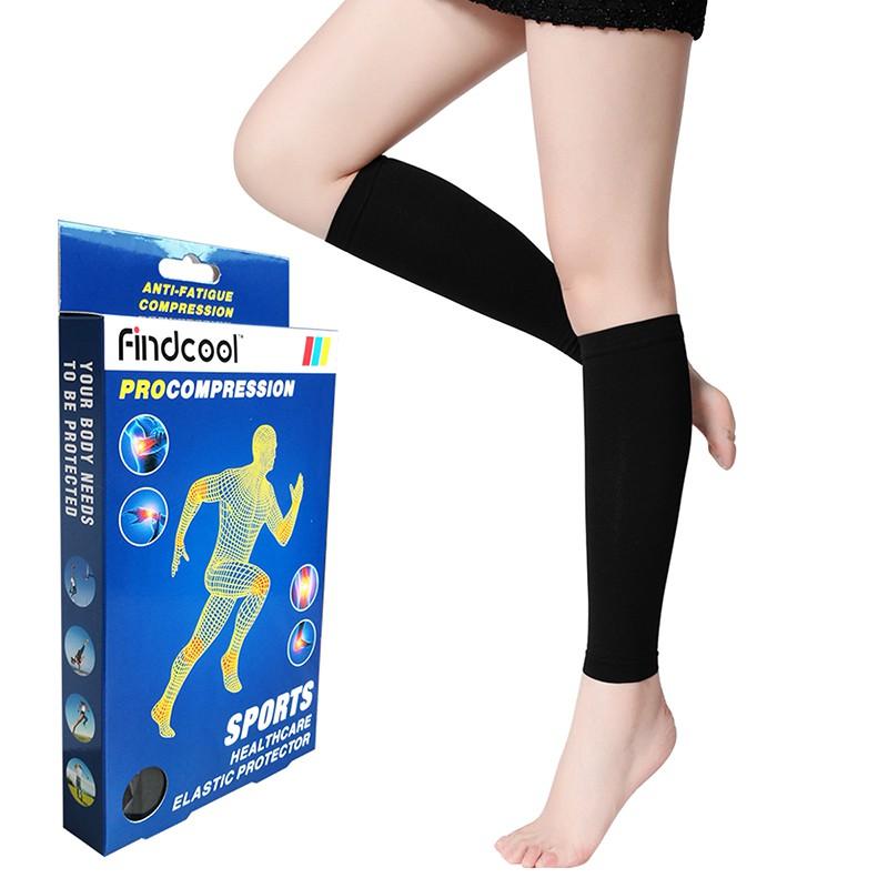 8acea3a9b0 Leg Calf Sleeve Varicose Vein Circulation Compression Elastic Calf Stocking    Shopee Malaysia