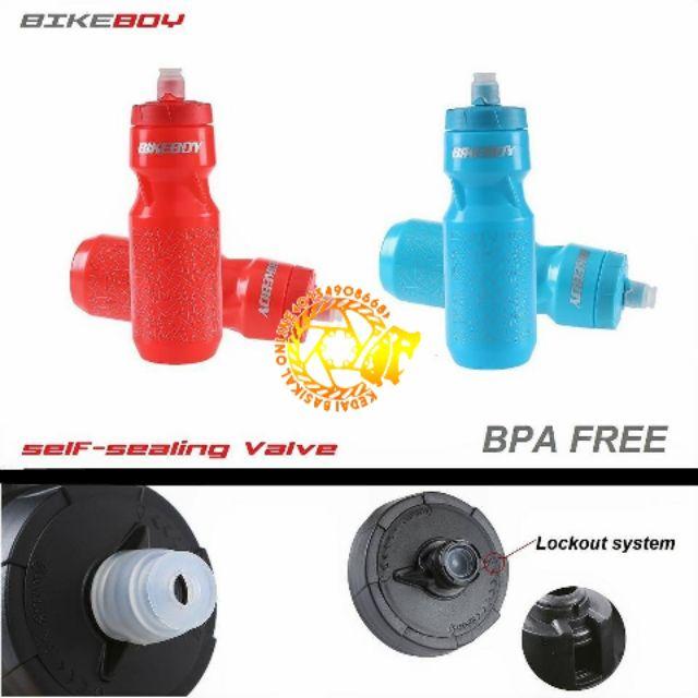 MTB RB Original BIKEBOY self-sealing valve bottle