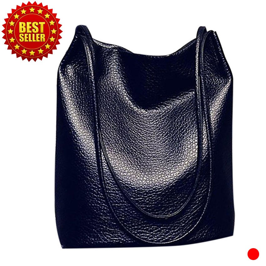 d08a0cf6e1b4 Fashion Women Handbags Leather Tote Bag Large Capacity Casual Shoulder Bags