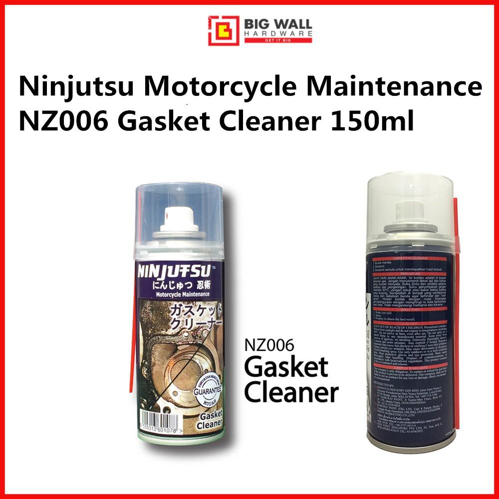 Samurai Ninjutsu Motorcycle Maintenance  NZ006 Gasket Cleaner 150ml *Pembersih Gasket