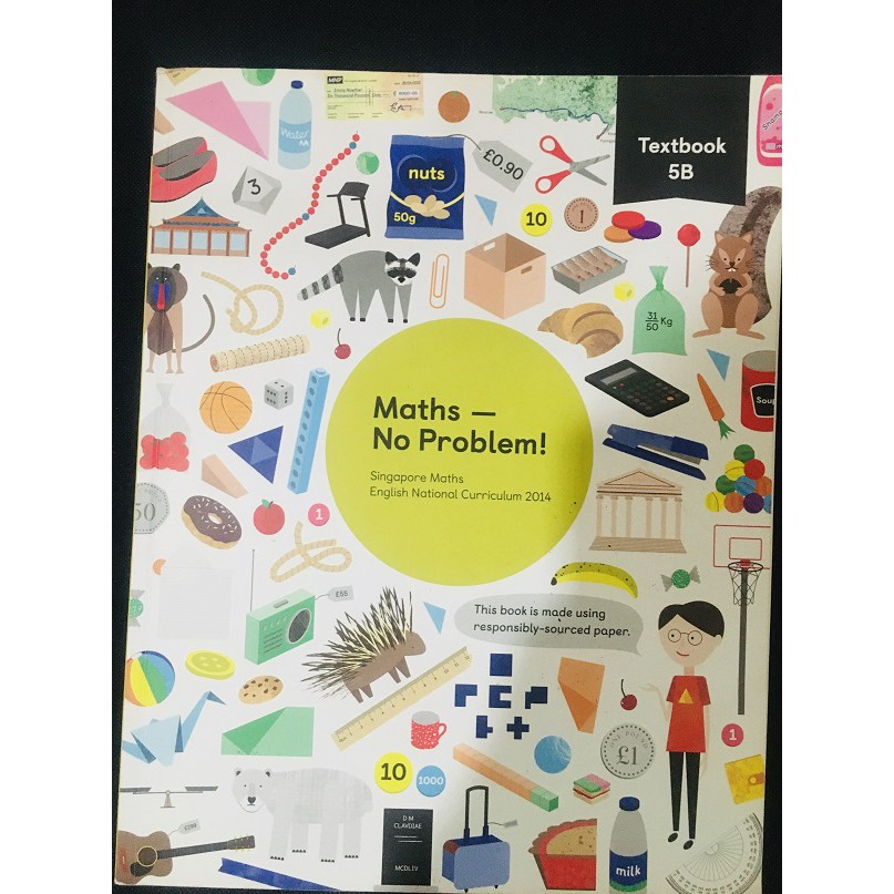 [Used] Primary School Reference Book - think! Mathematics Textbook 5A / 5B