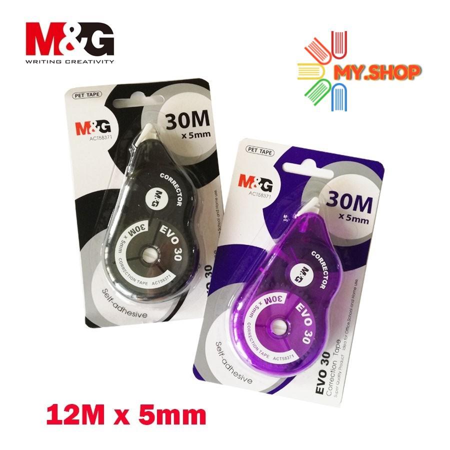 M & G ACT58371 EVO 30 CORRECTION TAPE  30 meter