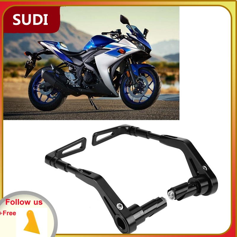 Black Motorcycle Brake Clutch 1 Pair of Carbon Fiber Motorcycle Brake Clutch Levers Handlebar Protect Guard