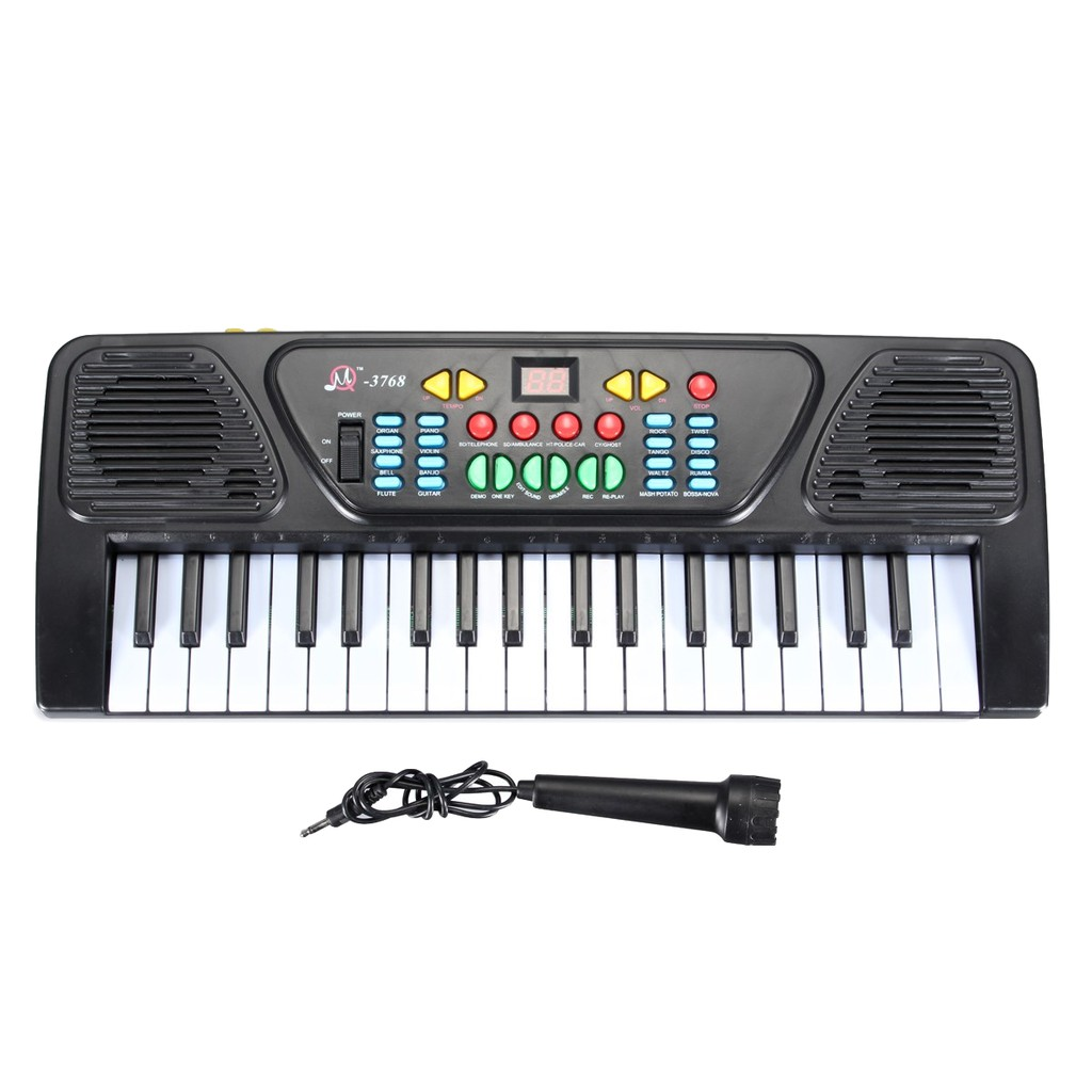 ea55252fe6a3 C-SONIC Kids Children 37 Key Electronic Keyboard Piano Musical Toy Record  Microp