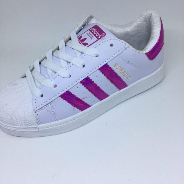 READY STOCK Adidas Superstar Pink Metallic