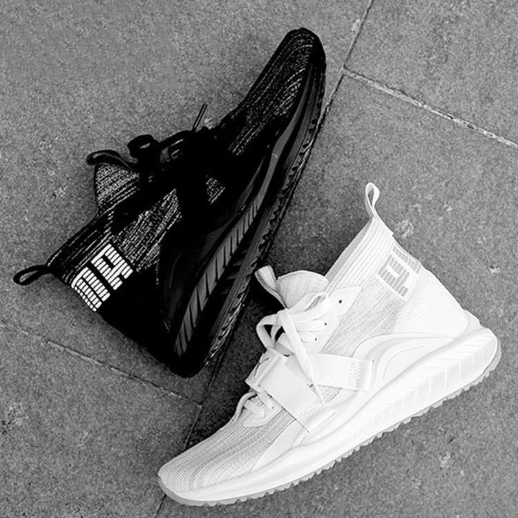 reputable site 8c88a 3497c Ready Stock Ori PUMA IGNITE evoKNIT 2 Men Sports Running Shoes Black White