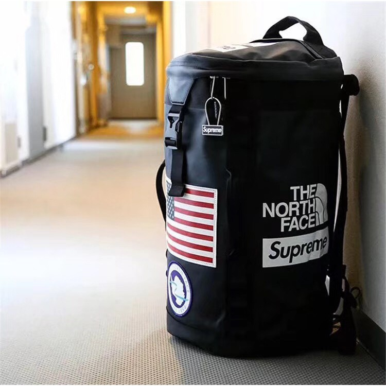 be0e778e0 【Ready Stock】17ss Supreme x The North Face )Backpack Travelling bag