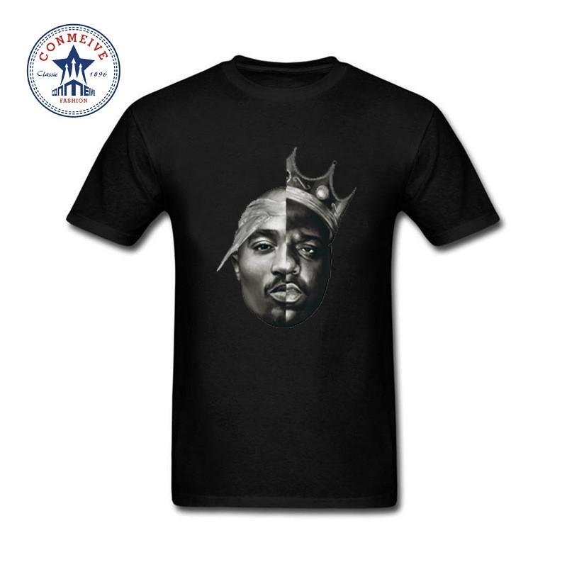 837eb57ff Tupac Notorious B.I.G Eazy-E T Shirts Hip-Hop Legend Never Die Graphic E |  Shopee Malaysia