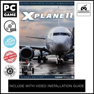 [PC Game] X-Plane 11 Global Scenery - Offline [DVD]