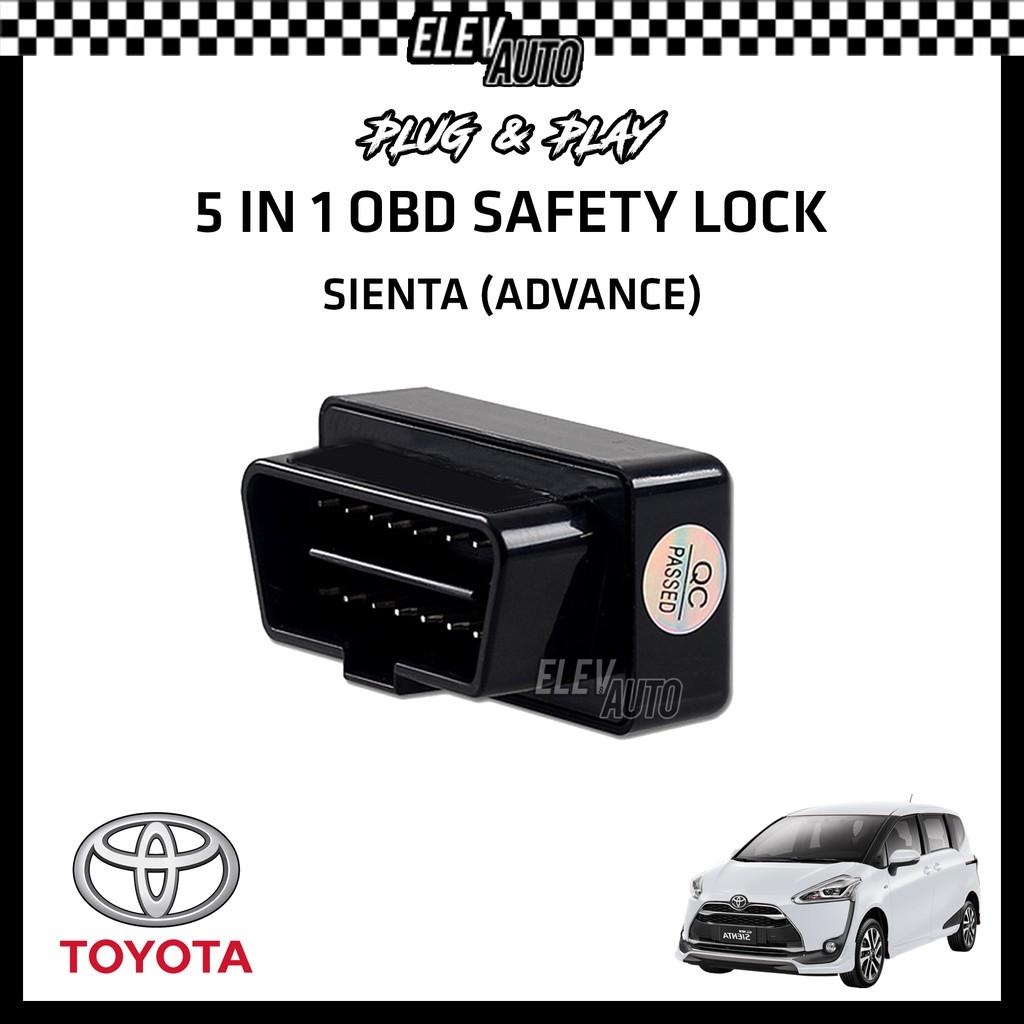 Toyota Sienta (Advance) OBD Safety Lock (5 in 1)