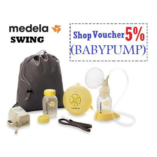 Medela Swing Electric Single Breastpump With Calma Teats Shopee