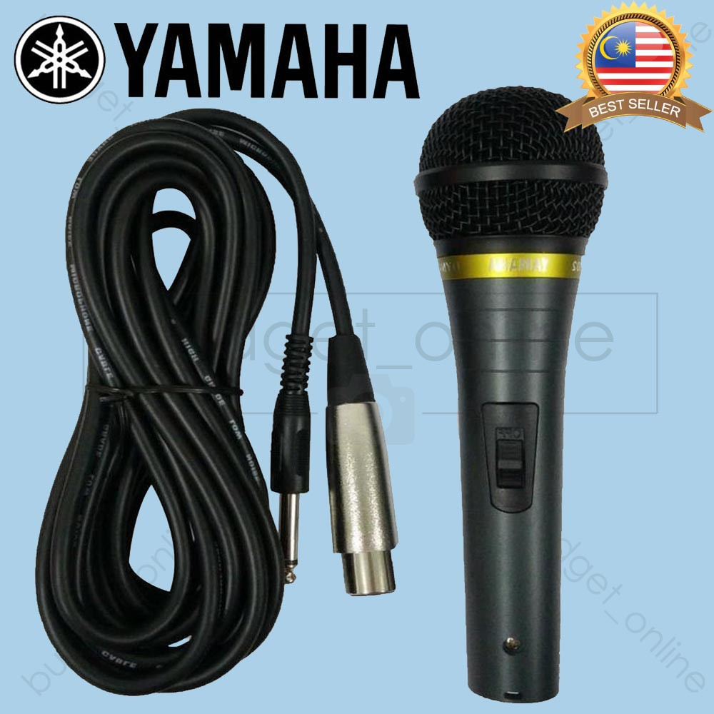 Yamaha Wired Microphone Mic for Karaoke/Vocal/Singing on