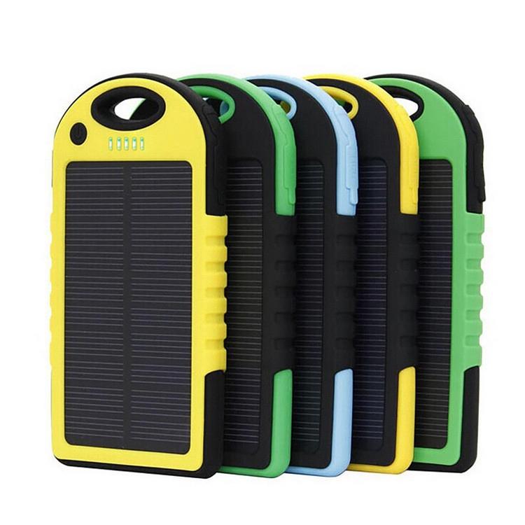 Solar Power Bank for Solar Mobile Power Supply