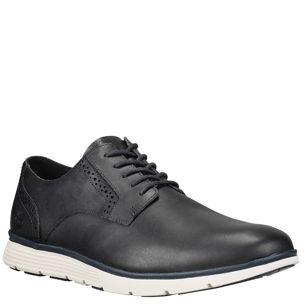 8f05a93371633 Timberland Men Naples Trail Plain Toe Oxford - Black | Shopee Malaysia