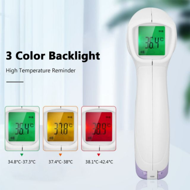 Forehead Thermometer Non Contact Infrared Thermometer Body Temperature Fever