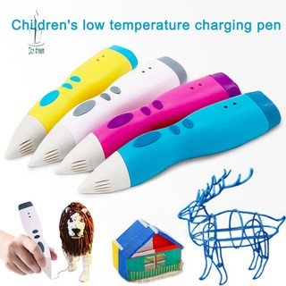 Dd 3d Printing Pen Low Temperature Pcl Filament 3d Printing Scribble Pen Xmas Gifts For School