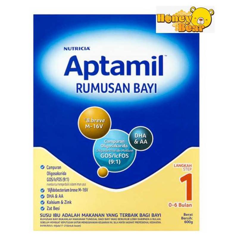 Aptamil Step 1 (600g & 1.2kg) EXP 11/2020
