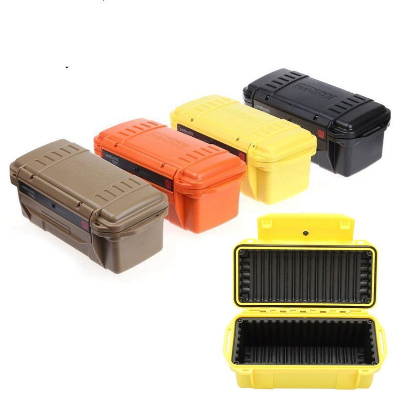 047dc62a1db5 Shockproof Trunk Waterproof Box Airtight Seal Case Outdoor Survive Container