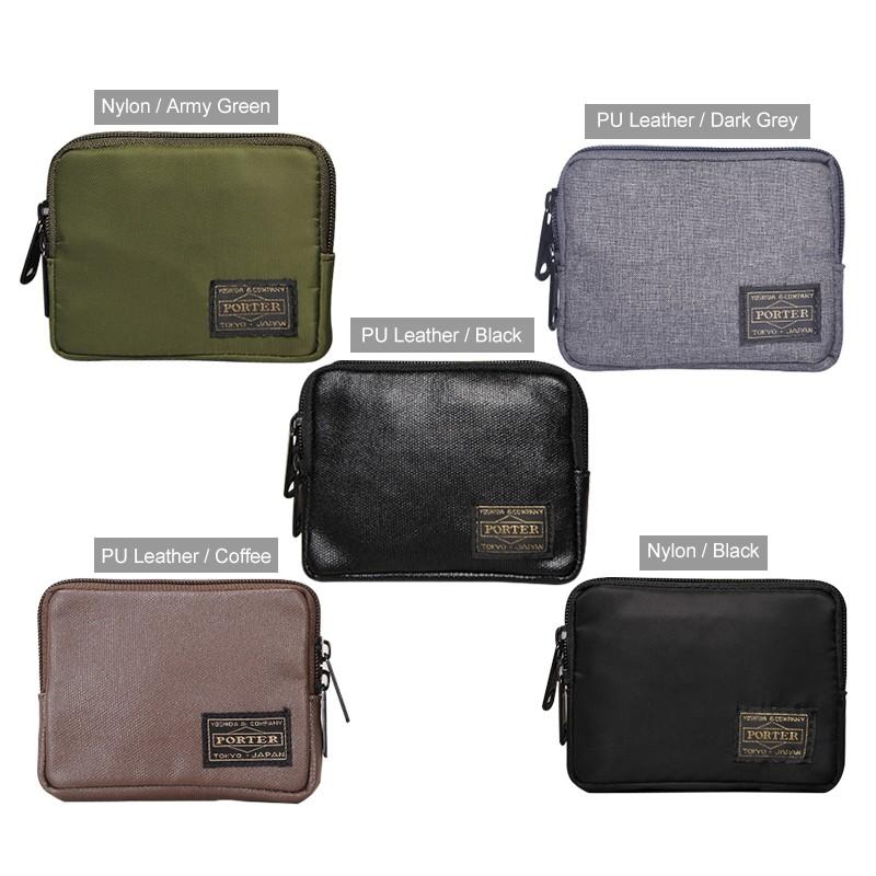 3549037fc02d Men's Zip Wallet Coin Purse Unisex Storage Bag Cards Cash Keys
