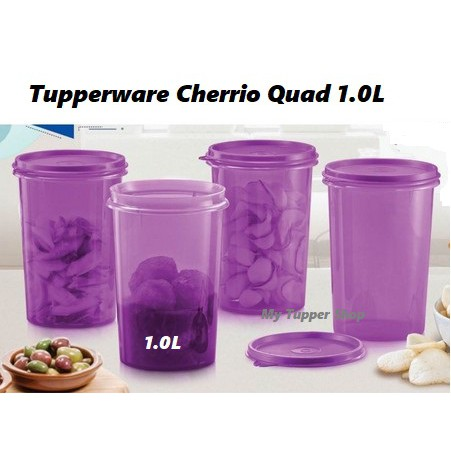 Tupperware Cheerio Quad 1.0L (1)