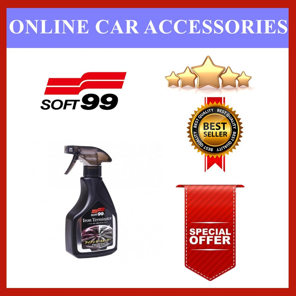 (Free Gift) Soft 99 | Soft99 - Iron Terminator 500ML ( sport rim / wheel cleaner )