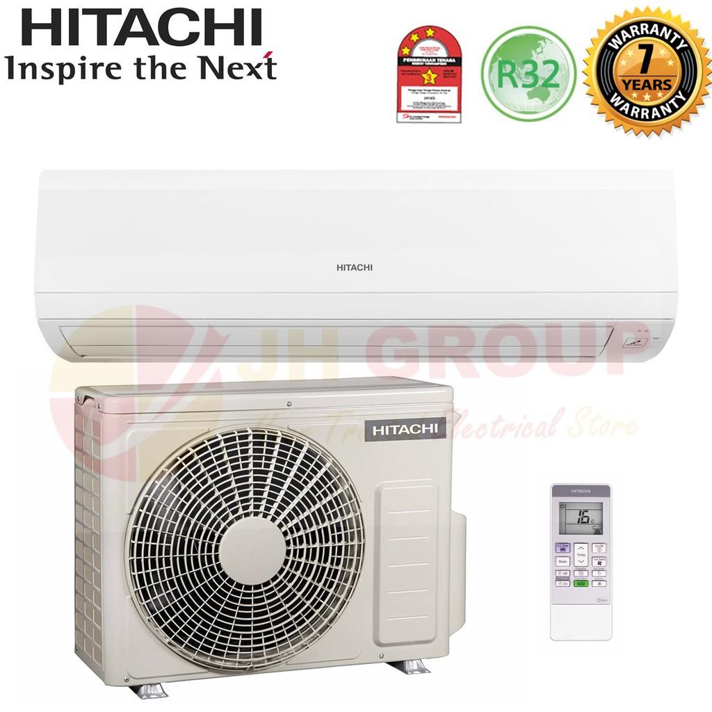 ( NEW ) HITACHI RAS-EH18CKM / RAC-EH18CKM 2HP R32 STANDARD AIR COND