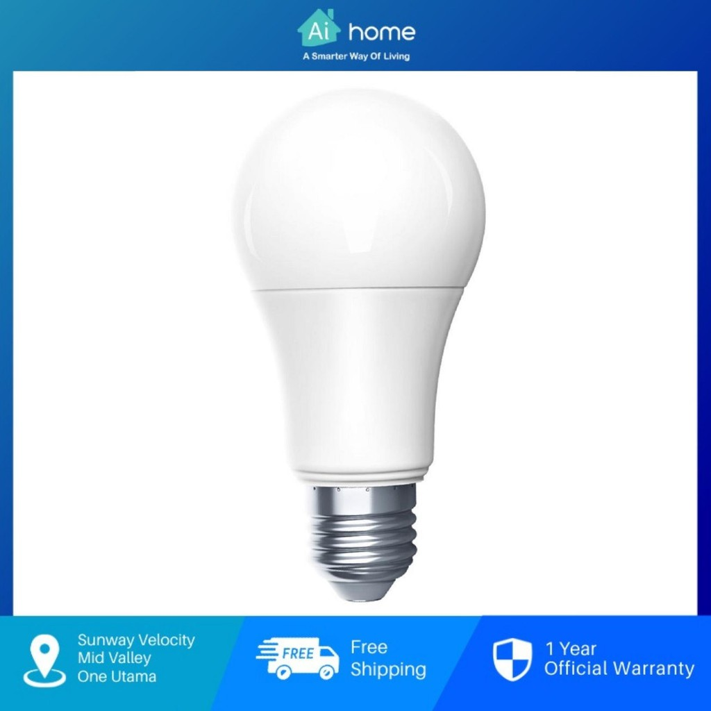 AQARA LED Light Bulb [ Smart LED Light Bulb ] - Tunable White   Global Version   Malaysia Warranty [ Aihome ]
