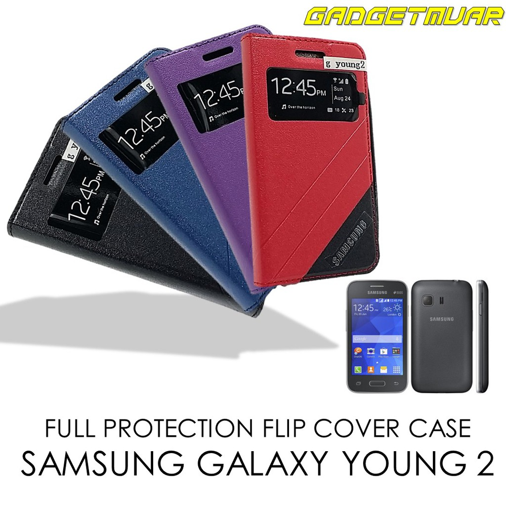 flip cover samsung young 2