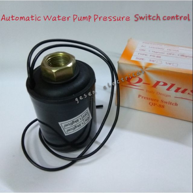 """Water Pump Pressure Switch Control 3/8"""" Female Threaded Automatic"""