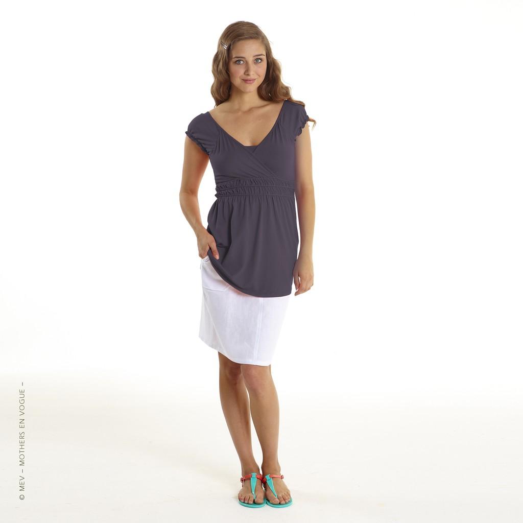 48e33721e24 Maternity & Nursing Hem Toga Top by Mothers En Vogue | Shopee Malaysia