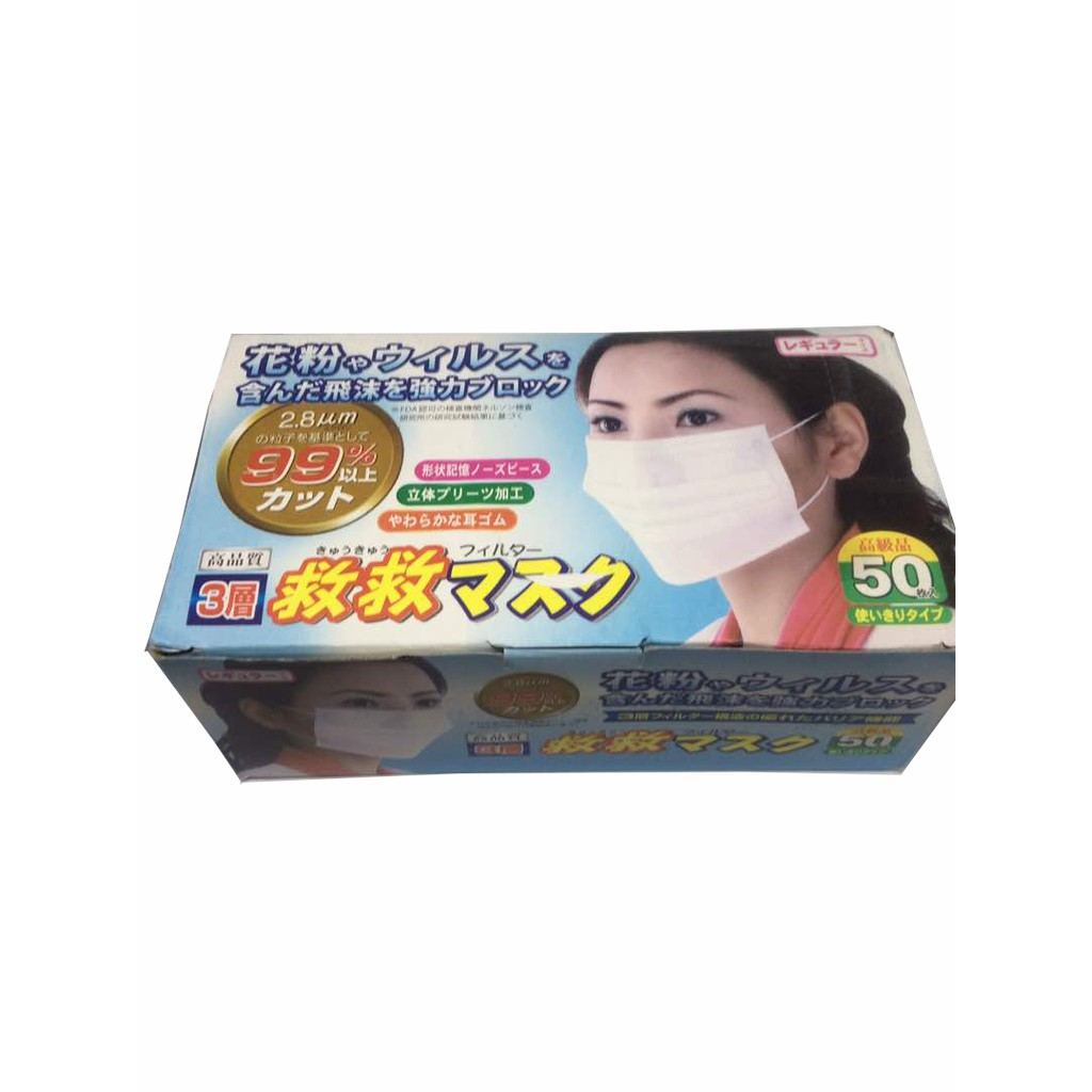Safety Mask Jerebu Disposable Nose Mask Cotton Filter Micro
