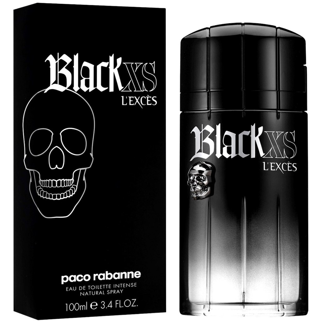 Paco Edt For L`exces Men Rabanne Xs 100mlavailable Black WCedorxB