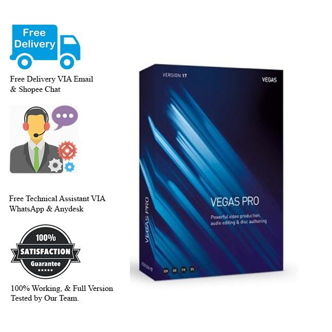 MAGIX VEGAS Pro 17 2019 Full Version (Video Editor)
