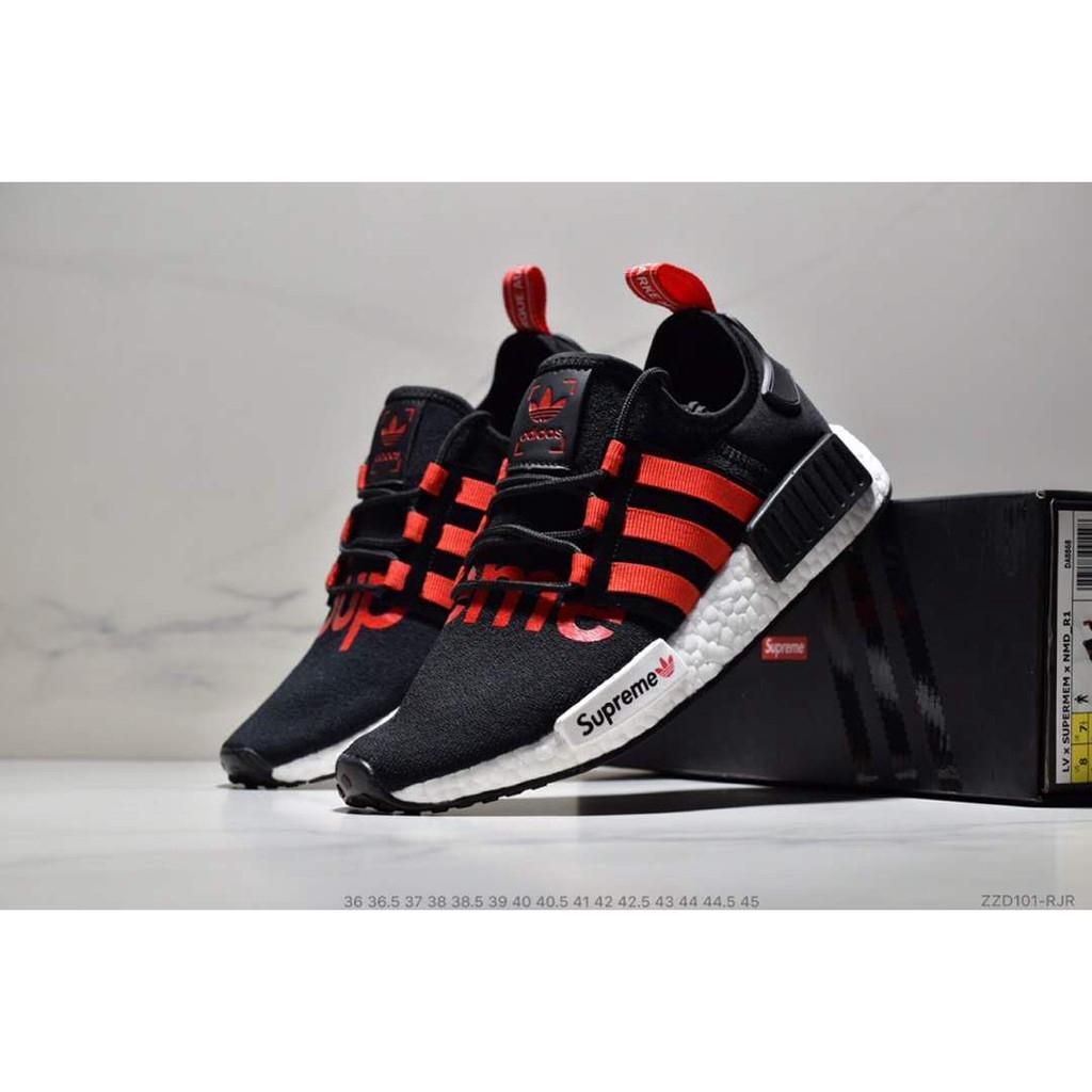 on sale f7e51 e5b82 ADIDAS NMD R_1 X SUPREME ' Black/Red'   Shopee Malaysia