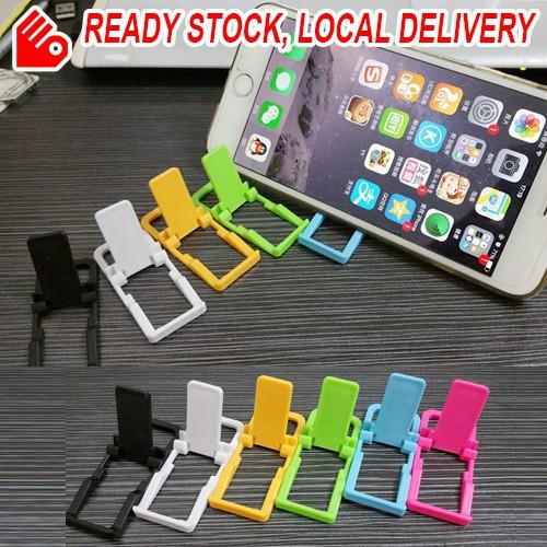 Mini Smart Phone Stand Universal Light Weight Foldable Holder Docks
