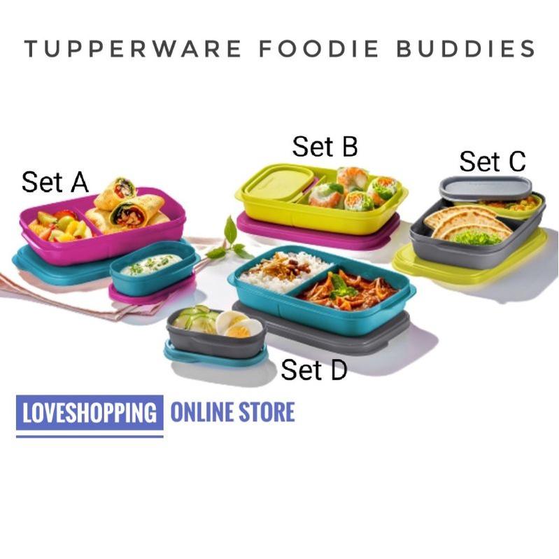Tupperware Lunch Box/Foodie Buddies