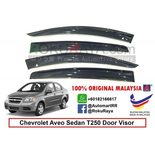 Chevrolet Aveo Hatchback T200 Ag Door Visor Big 12cm Width