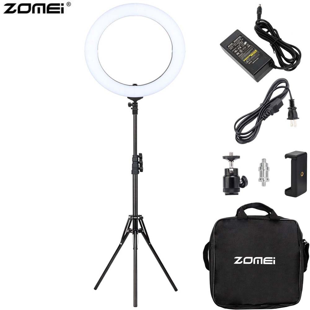 Zomei Ring Light 18inch Double Light with Stand Kit Set (ZRL-18V)