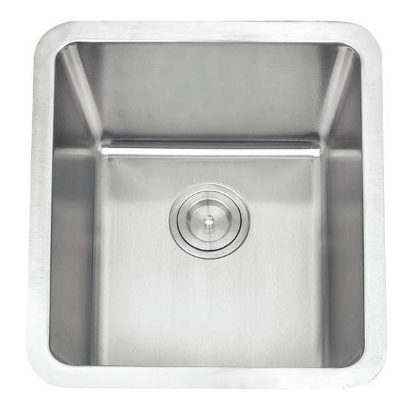 Single Bowl Stainless Steel Sink C/W Waste NKS-980