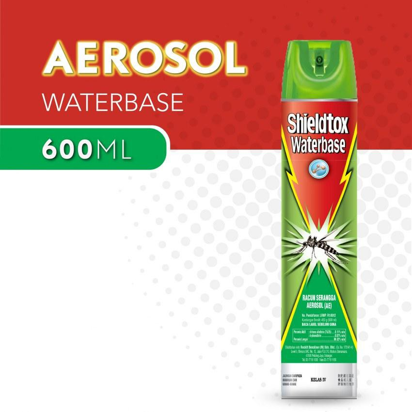 Shieldtox Waterbase Aerosol 600ml