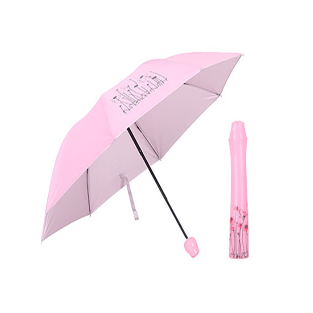 3d7fb014b7c75 ProductImage. ProductImage. Sold Out. Rose Pink Folding Rain Windproof  Umbrella ...