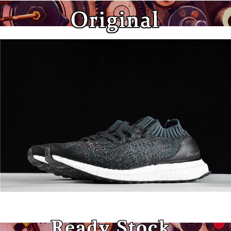 official photos a8434 f3b99 Authentic Adidas Ultra Boost Uncaged black rainbow lovers BA9796 running  shoes√