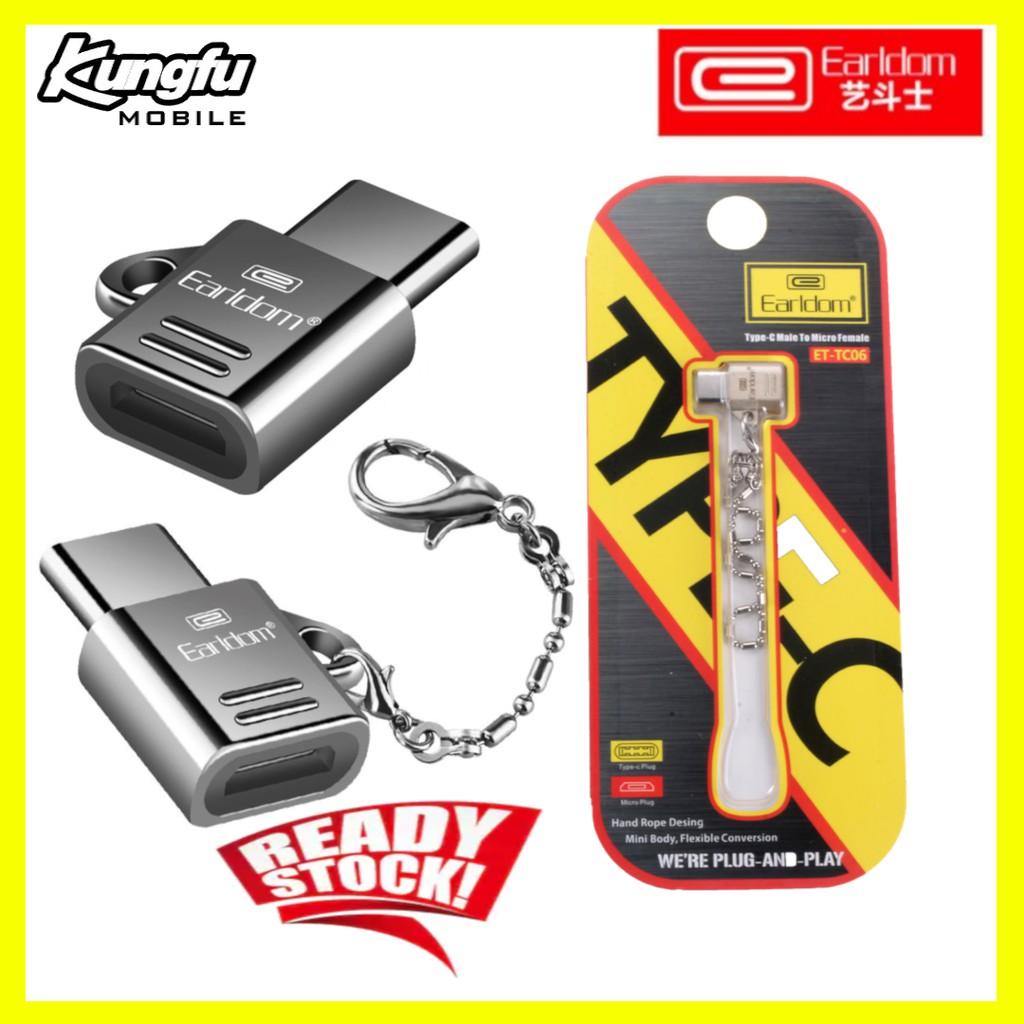 ORIGINAL Earldom MICRO to Type-C Charging Convertor