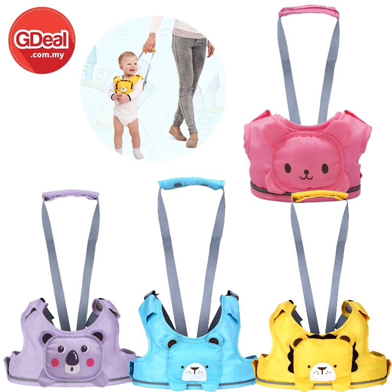 GDeal Infant Learning Walking Traction Line Safety Harness Leashes Strap Bag Anti-lost  Keeper Baby Toddler Walking