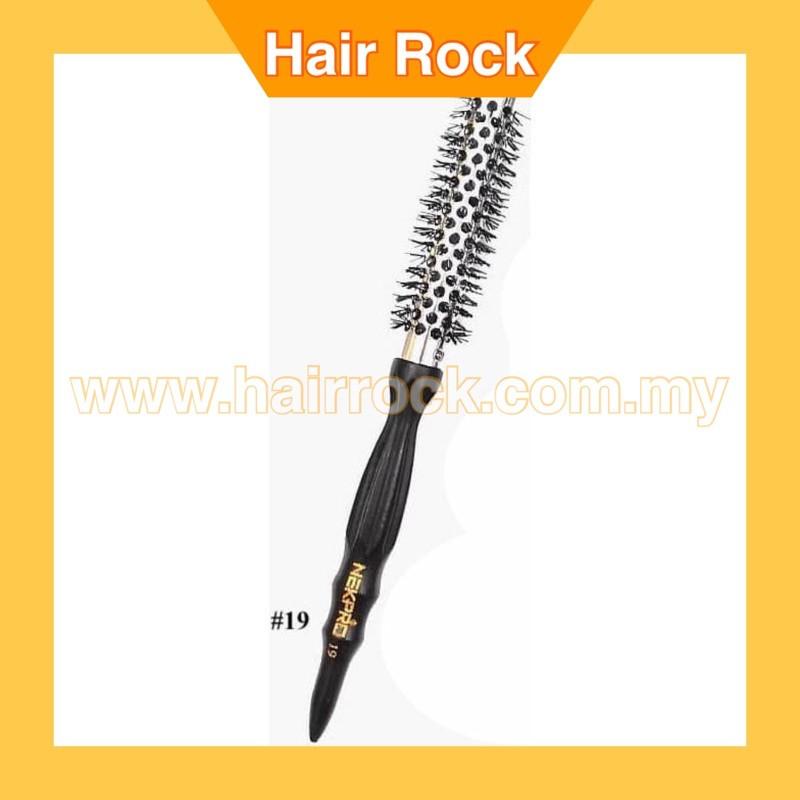 NEK Pro Wavy Curly Round Roll Hair Brush