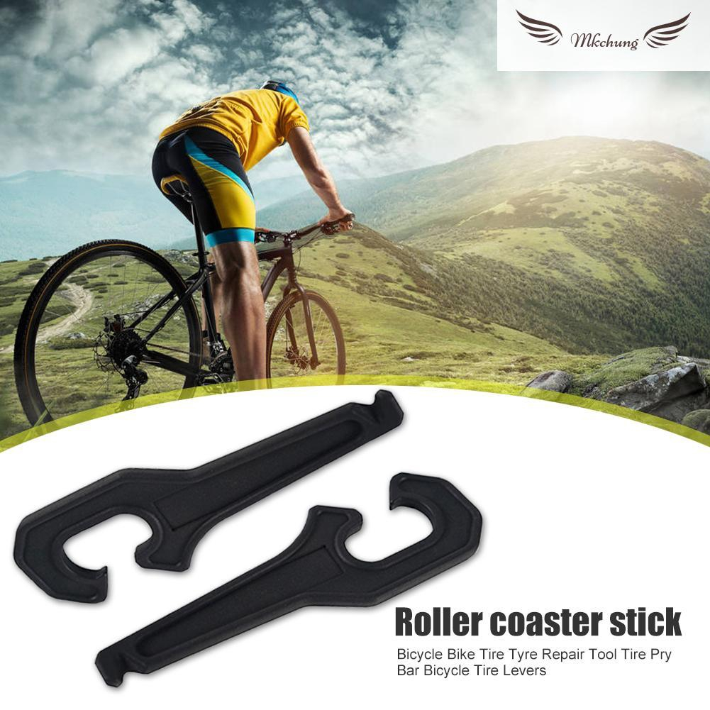2X Bike Cycling Bicycle Tyre Tire Lever Repair Opener Breaker Tool Tools TB