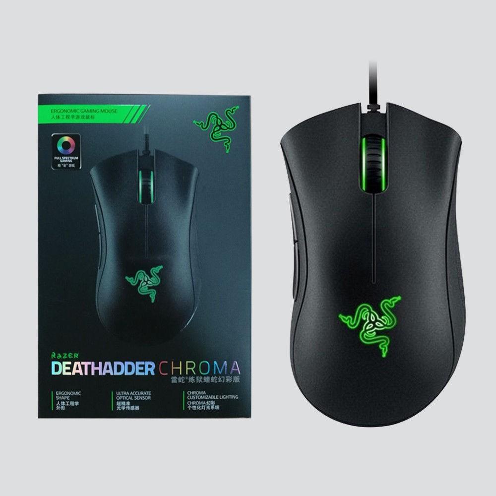 ea9d84f0ea2 Razer Gaming Mouse DeathAdder Chroma 3500dpi USB Wired | Shopee Malaysia