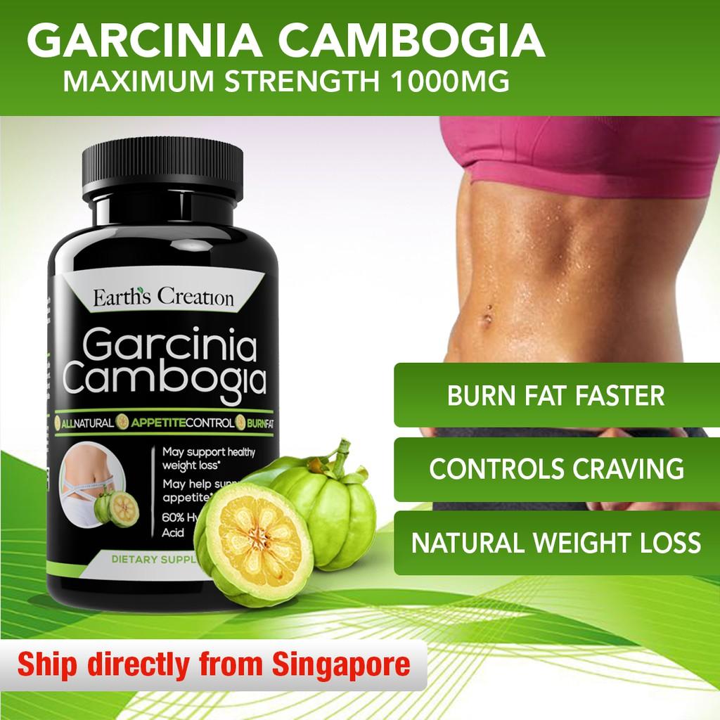 Usa Ec Garcinia Cambogia 1000mg 60 Capsules Shopee Malaysia